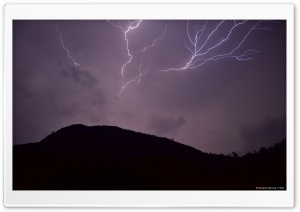 Thunders HD Wide Wallpaper for Widescreen