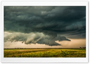 Thunderstorm - Iowa HD Wide Wallpaper for Widescreen