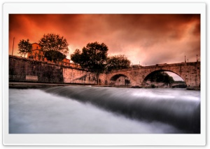 Tiber River HD Wide Wallpaper for Widescreen