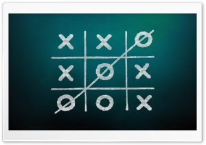 Tic-Tac-Toe Game Background Ultra HD Wallpaper for 4K UHD Widescreen desktop, tablet & smartphone