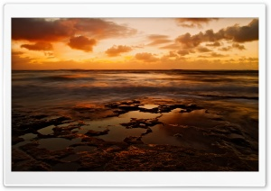 Tide Pools HD Wide Wallpaper for Widescreen