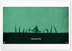 Tidehunter - DotA 2 HD Wide Wallpaper for Widescreen