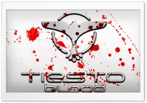Tiesto Blood HD Wide Wallpaper for Widescreen