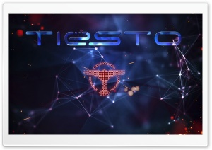 Tiesto by Simon Barja HD Wide Wallpaper for Widescreen