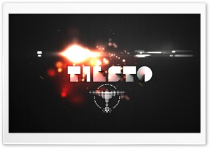 Tiesto Explosion HD Wide Wallpaper for Widescreen