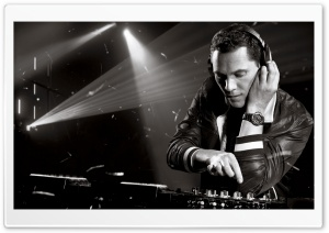 Tiesto Session HD Wide Wallpaper for Widescreen