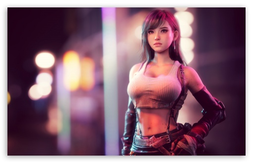 Tifa Lockhart Ff7 Ultra Hd Desktop Background Wallpaper For