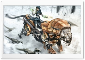 Tiger Robot HD Wide Wallpaper for Widescreen
