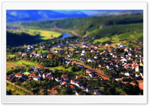 Tilt And Shift Panorama HD Wide Wallpaper for Widescreen
