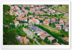 Tilt Shift Photography HD Wide Wallpaper for Widescreen