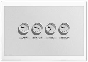 Time - The World Clock - Worldwide HD Wide Wallpaper for 4K UHD Widescreen desktop & smartphone