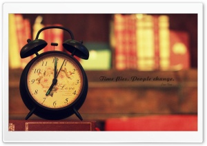 Time Flies HD Wide Wallpaper for Widescreen