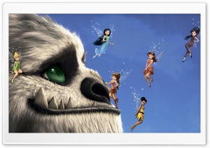 TinkerBell and the Legend of the NeverBeast HD Wide Wallpaper for Widescreen