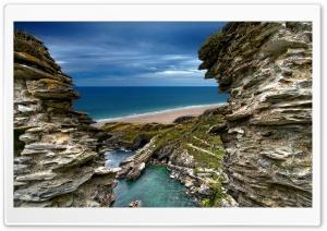 Tintangel Castle II Ultra HD Wallpaper for 4K UHD Widescreen desktop, tablet & smartphone