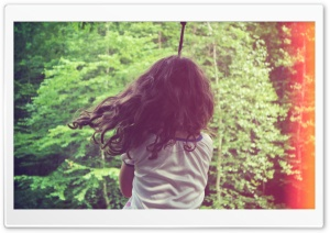 Tire Swing HD Wide Wallpaper for Widescreen