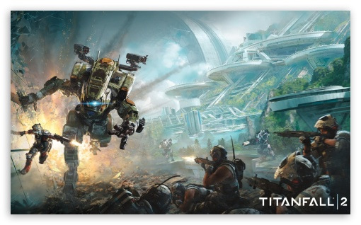 Titanfall 2 2016 Game ❤ 4K UHD Wallpaper for Wide 5:3 Widescreen WGA ; 4K UHD 16:9 Ultra High Definition 2160p 1440p 1080p 900p 720p ; Mobile 5:3 16:9 - WGA 2160p 1440p 1080p 900p 720p ;