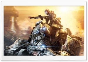 Titanfall Titans 2014 video game HD Wide Wallpaper for 4K UHD Widescreen desktop & smartphone