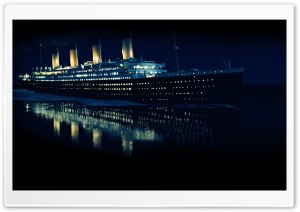 Titanic 3D HD Wide Wallpaper for Widescreen