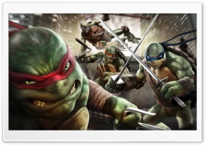 TMNT HD Wide Wallpaper for 4K UHD Widescreen desktop & smartphone