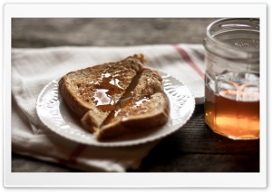 Toast And Honey HD Wide Wallpaper for Widescreen