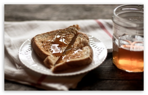 Toast And Honey HD wallpaper for Wide 16:10 5:3 Widescreen WHXGA WQXGA WUXGA WXGA WGA ; HD 16:9 High Definition WQHD QWXGA 1080p 900p 720p QHD nHD ; Standard 4:3 3:2 Fullscreen UXGA XGA SVGA DVGA HVGA HQVGA devices ( Apple PowerBook G4 iPhone 4 3G 3GS iPod Touch ) ; iPad 1/2/Mini ; Mobile 4:3 5:3 3:2 16:9 - UXGA XGA SVGA WGA DVGA HVGA HQVGA devices ( Apple PowerBook G4 iPhone 4 3G 3GS iPod Touch ) WQHD QWXGA 1080p 900p 720p QHD nHD ;