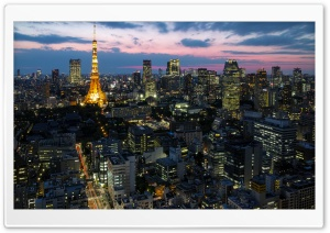 Tokyo HD Wide Wallpaper for 4K UHD Widescreen desktop & smartphone
