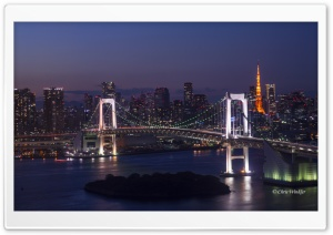 Tokyo Attractions Ultra HD Wallpaper for 4K UHD Widescreen desktop, tablet & smartphone