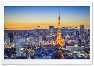Tokyo Attractions HD Wide Wallpaper for Widescreen
