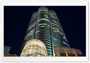 Tokyo Buildings at Night Ultra HD Wallpaper for 4K UHD Widescreen desktop, tablet & smartphone
