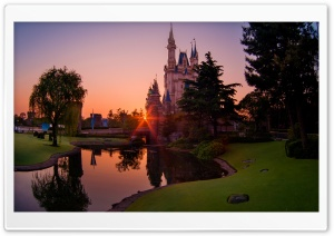 Tokyo Disneyland of the Rising Sun HD Wide Wallpaper for 4K UHD Widescreen desktop & smartphone