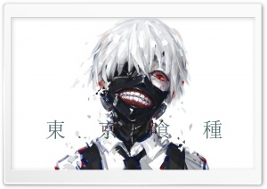 Tokyo Ghoul HD Wide Wallpaper for Widescreen