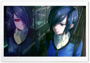 Tokyo Ghoul - Touka HD Wide Wallpaper for 4K UHD Widescreen desktop & smartphone