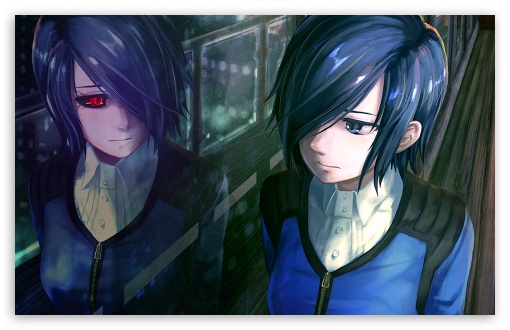 Tokyo Ghoul Touka Ultra Hd Desktop Background Wallpaper