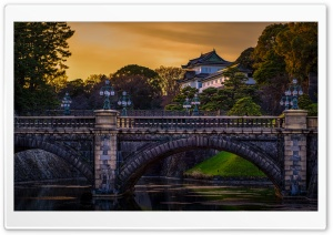 Tokyo Imperial Palace Ultra HD Wallpaper for 4K UHD Widescreen desktop, tablet & smartphone