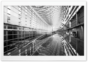 Tokyo International Forum Ultra HD Wallpaper for 4K UHD Widescreen desktop, tablet & smartphone