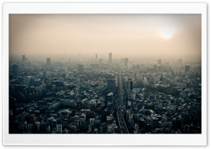 Tokyo Smog HD Wide Wallpaper for Widescreen