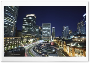 Tokyo Station HD Wide Wallpaper for 4K UHD Widescreen desktop & smartphone