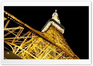Tokyo Tower HD Wide Wallpaper for Widescreen