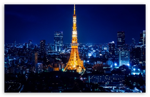 Tokyo Tower At Night HD wallpaper for Standard 4:3 5:4 Fullscreen UXGA XGA SVGA QSXGA SXGA ; Wide 16:10 Widescreen WHXGA WQXGA WUXGA WXGA ; Mobile VGA WVGA iPhone iPad Phone - VGA QVGA Smartphone ( PocketPC GPS iPod Zune BlackBerry HTC Samsung LG Nokia Eten Asus ) WVGA WQVGA Smartphone ( HTC Samsung Sony Ericsson LG Vertu MIO ) HVGA Smartphone ( Apple iPhone iPod BlackBerry HTC Samsung Nokia ) ; Tablet 2 Android 3 DVGA HVGA HQVGA devices ( Apple PowerBook G4 iPhone 4 3G 3GS iPod Touch ) ;