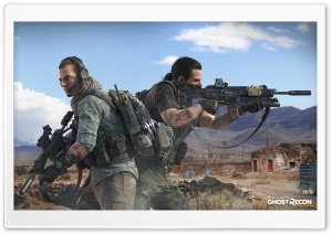 Tom Clancy's Ghost Recon Wildlands Characters HD Wide Wallpaper for Widescreen