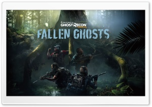Tom Clancy's Ghost Recon Wildlands Fallen Ghosts HD Wide Wallpaper for Widescreen