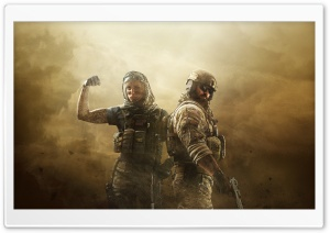 Tom Clancys Rainbow Six Siege - Operation Dust Line HD Wide Wallpaper for 4K UHD Widescreen desktop & smartphone