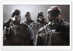 Tom Clancy's Rainbow Six Siege Art HD Wide Wallpaper for Widescreen