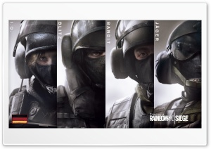 Tom Clancys Rainbow Six Siege GSG-9 HD Wide Wallpaper for 4K UHD Widescreen desktop & smartphone