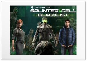Tom Clancys Splinter Cell Blacklist 4 Ultra HD Wallpaper for 4K UHD Widescreen desktop, tablet & smartphone