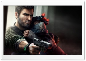 Tom Clancy's Splinter Cell Conviction HD Wide Wallpaper for Widescreen