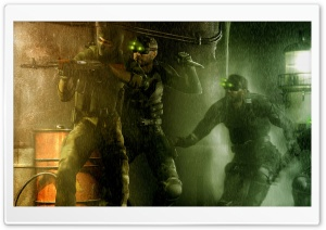 Tom Clancy's Splinter Cell Pandora Tomorrow HD Wide Wallpaper for Widescreen