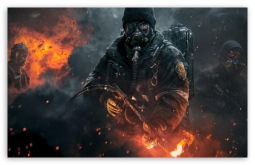 Tom Clancy's The Division 4K HD Desktop Wallpaper For 4K