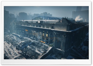 Tom Clancy's The Division Base of Operations HD Wide Wallpaper for Widescreen