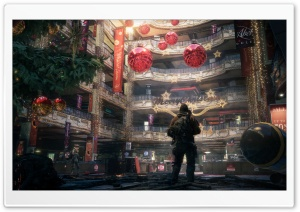 Tom Clancy's The Division Christmas HD Wide Wallpaper for 4K UHD Widescreen desktop & smartphone